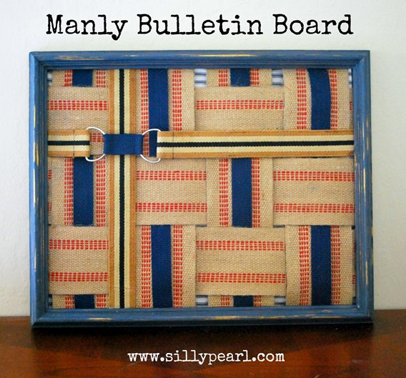 Manly Bulletin Board -- The Silly Pearl