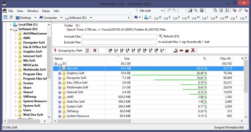 Find Lost Disk Space of Your PC Hard Disk