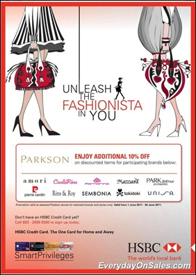 hsbc-parkson-2011-EverydayOnSales-Warehouse-Sale-Promotion-Deal-Discount