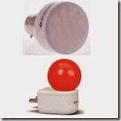Philips Joy Vision Coral Rush 0.5W at Rs. 160 & Bajaj Multi Purpose LED Lamp 3W at Rs. 268