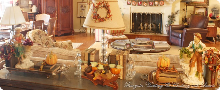 Fall Buffet-Bargain Hunting with Laurie
