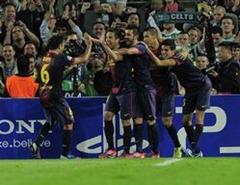 Hasil Barcelona vs Celtic