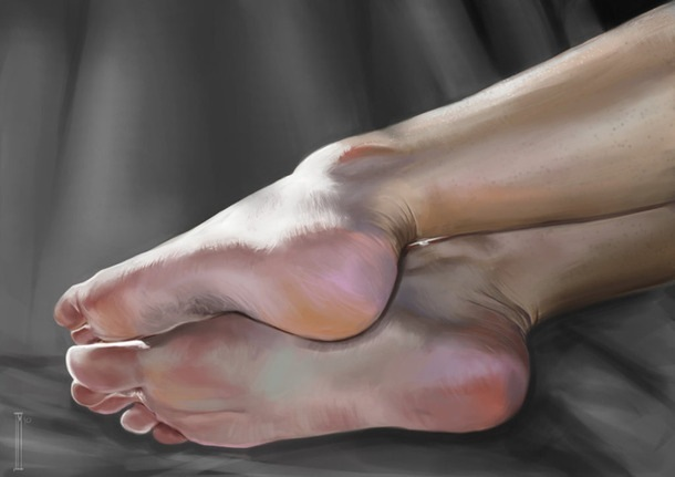 фото женские ступни