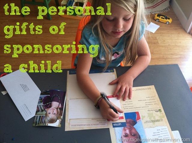 sponsoring a child