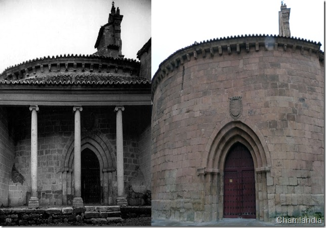 Comparativa 1 iglesia de San Marcos con portico Salamanca Luis Gonzlez de la Huebra
