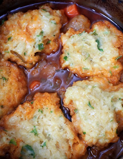 Crock Pot Beef Stew with Herb Dumplings by Best Crockpot Recipes
