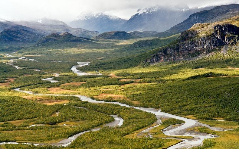 Самая красивая река Скандинавии