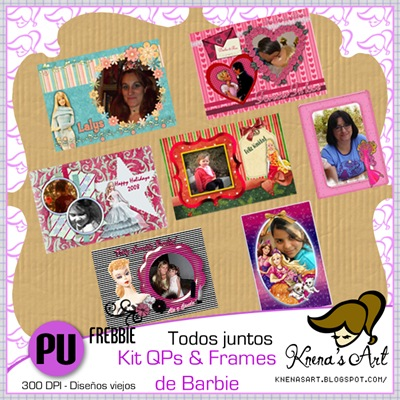 Kit-QPs&Frames-Barbie-7