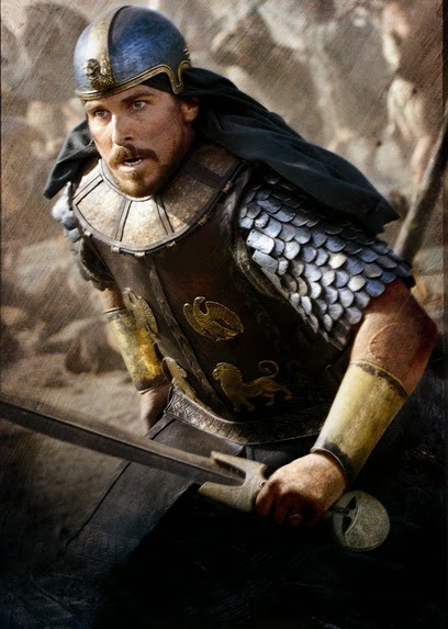 Christian Bale as Moses in Exodus Gods and Kings