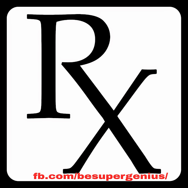 Super Genius Meaning Of Rx On Medical Prescription