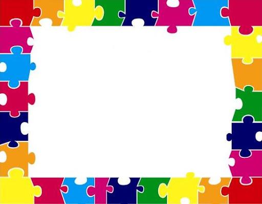 Marcos rectangulares marcos rectangulares de color for Bordes creativos