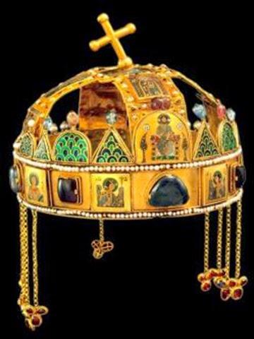 la Santa Corona de Hungría
