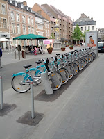 Free bicycles in Namur Photo