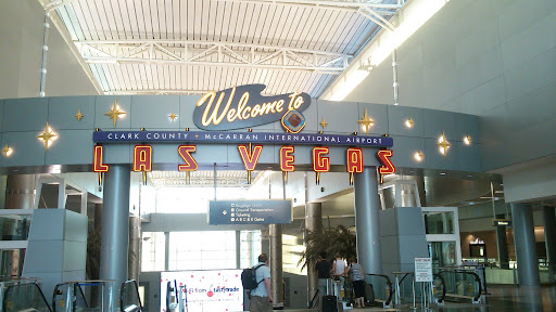 [写真]ラスベガスのMcCarran International Airport