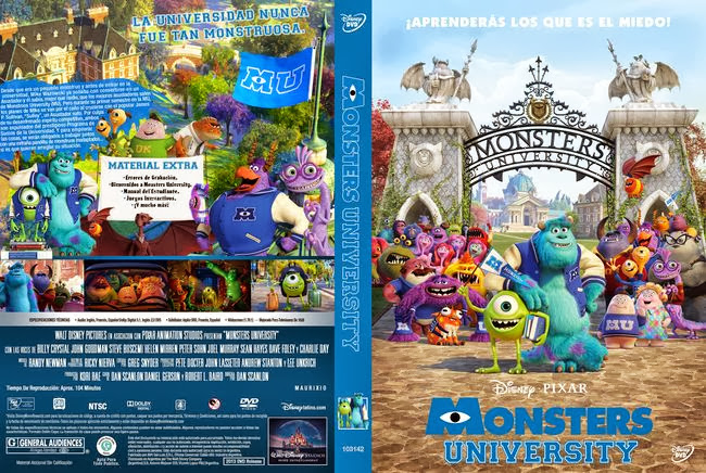 Monsters University *PROPER* – Latino