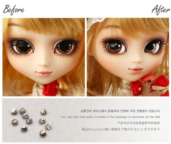 Pullip Princess Rosalind Feb 2013 Cristales