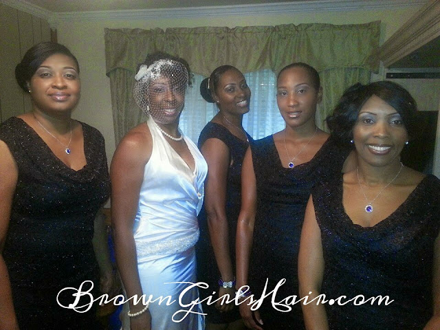 natural hair bride, wedding hair, black hair care