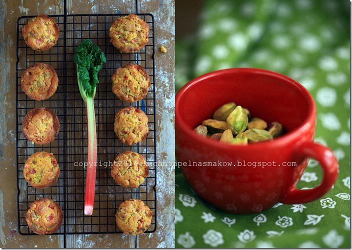 bezglutenowe i glutenowe babeczki rabarbarowe2