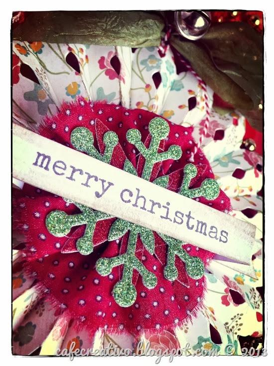 cafe creativo - sizzix big shot - christmas - foriporta natalizio