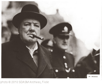 'Churchill, Winston' photo (c) 2010, SDASM Archives - license: http://www.flickr.com/commons/usage/
