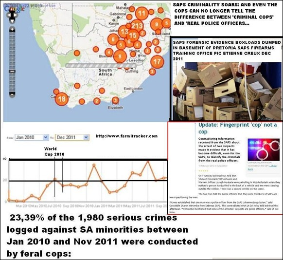 SAPS CRIMINALITY SOARS COPS CANNOT TELL DIFFERENCE BETWEEN REAL AND BOGUS COPS WRITES DYLAN SLATER BEDFORDVIEW LOOK LOCAL FEB13 2012