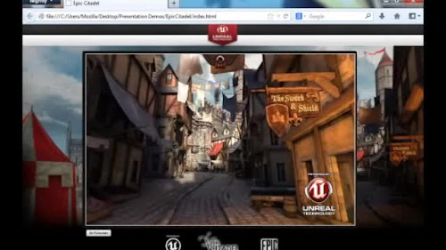 Unreal Engine 3 sul web