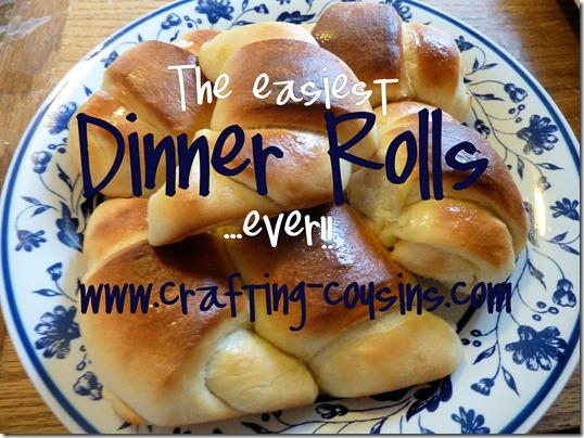 The easiest dinner rolls ever