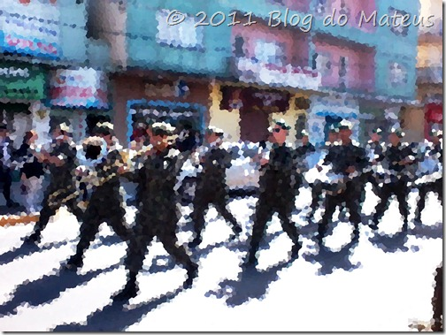 Marcha Pixalizada Banda Desfile de 7 de setembro