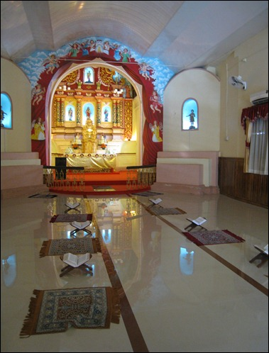 North Parvur or Kottakavu - Interior
