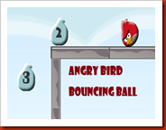 Angry Bird Bouncing Ball