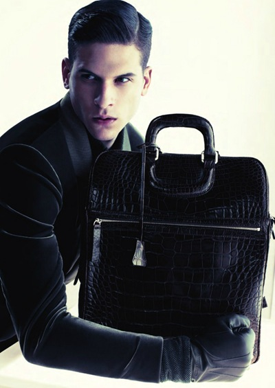 Diego Fragoso by Mert & Marcus for Giorgio Armani F/W 2011