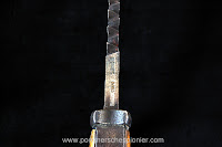 """Mark """"W17"""" - 1917 on the bayonet S98/05 (new pattern) with sawback"""