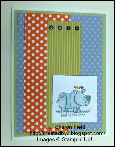hippo_with_Bird_and_red_heart_Colorful_Card