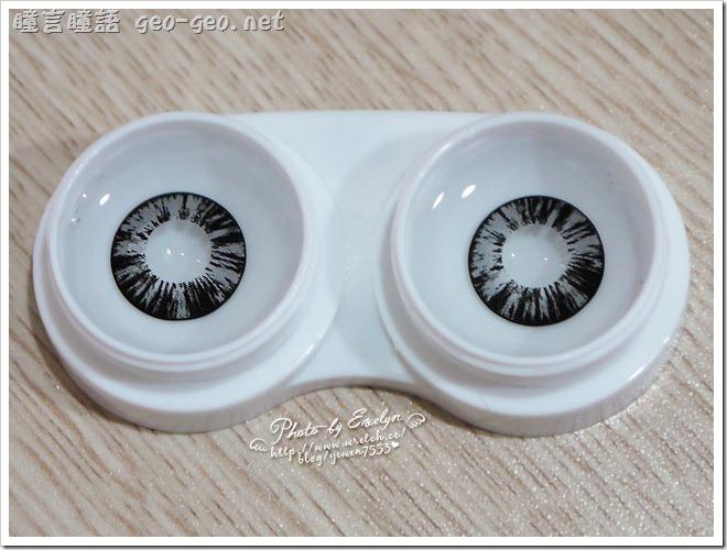 ( 6 ) 品牌:GEO隱形眼鏡 WT-B65MIMO鑽石甜心灰