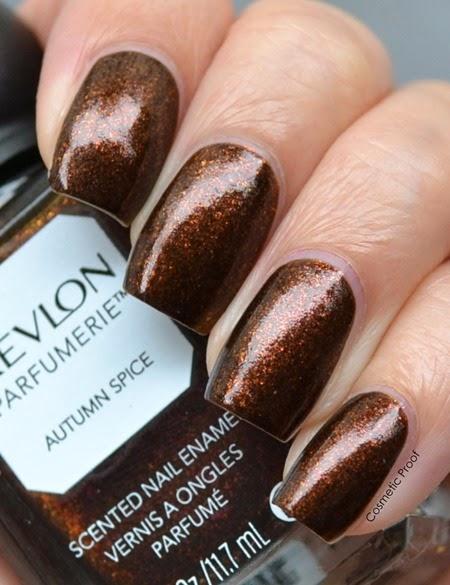 Revlon Parfumerie Autumn Spice Swatch (2)
