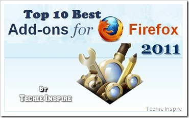 top 10 best firefox add-on 2011