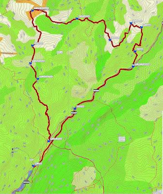 2013.05.4 - Herculane - Traseu Semimaraton Hercules