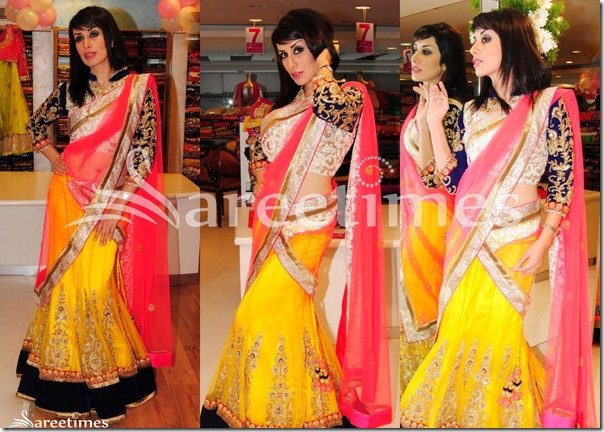 Pink_Yellow_Half_Saree