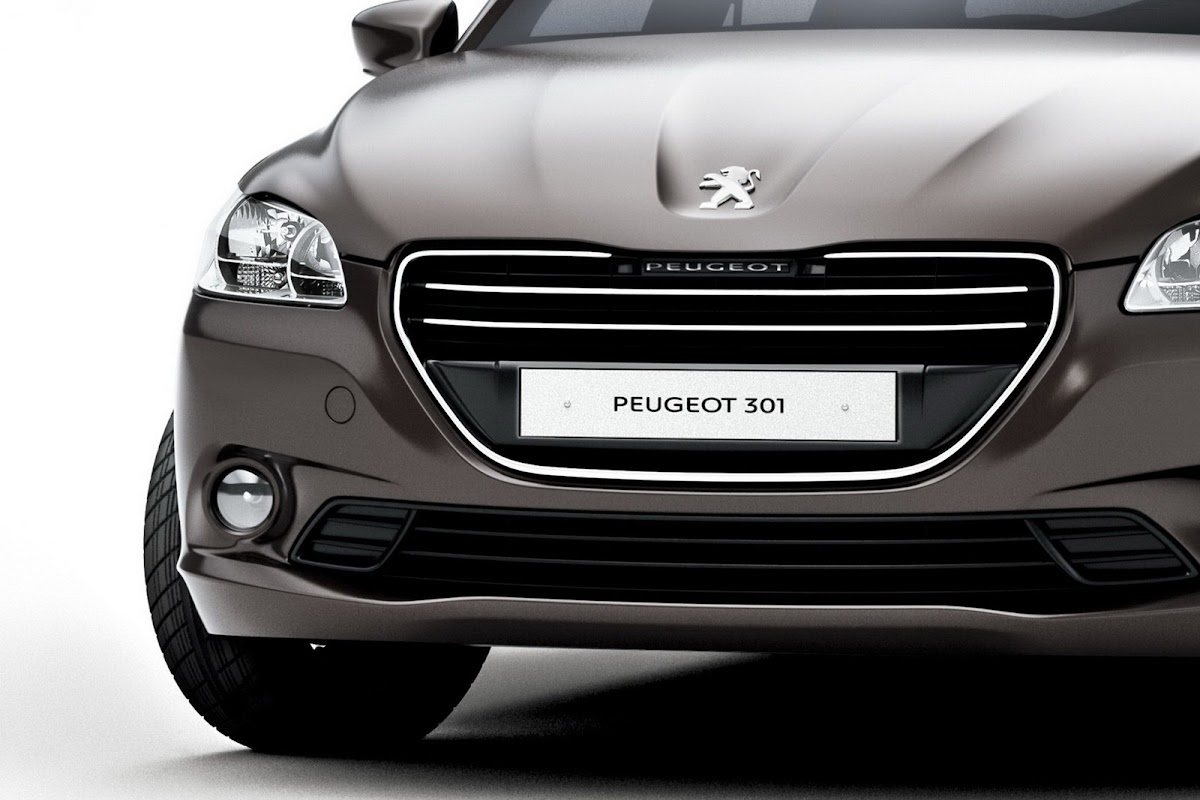 peugeot's new 301 budget compact saloon revealed ahead of paris debut