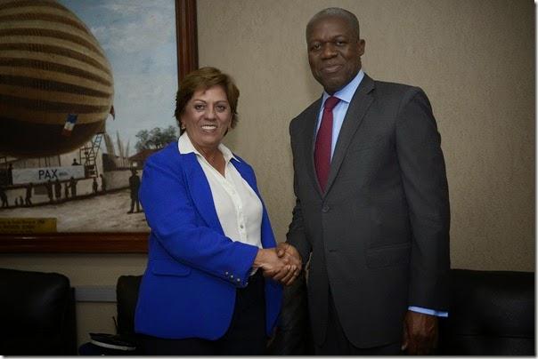 Governadora recepciona Vice-presidente de Gana - Elisa Elsie (2)