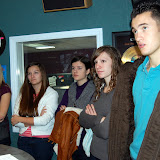 WBFJ Studio Tour - Salem Baptist Christian School Speech Class