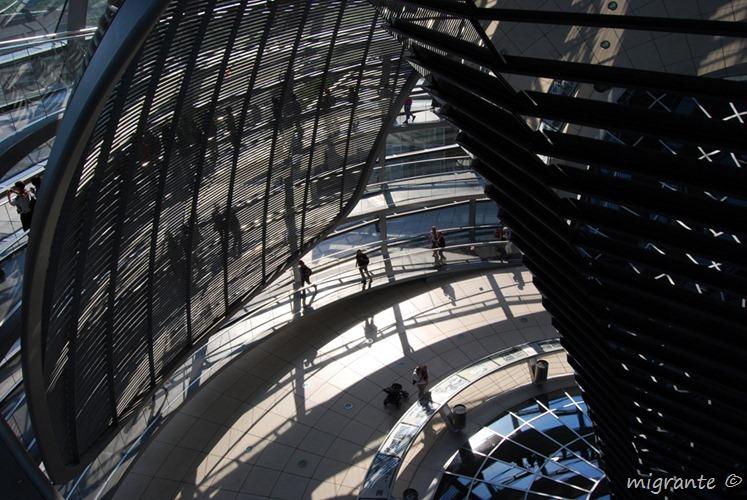 Subiendo y bajando - Reichstag - Berlin