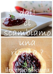 dai! ci scambiamo una ricetta?