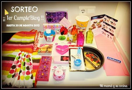 Sorteo - Mimamaysucocina.com