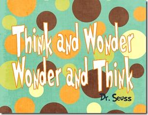 Think and Wonder-001