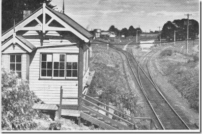 Coleraine Junction in 1966, from the Portland p100