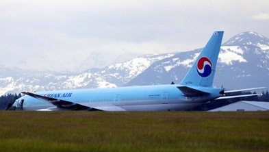 Korean Airlines flight diverted by bomb threat to Canadian air base
