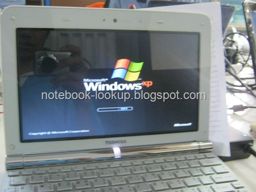 แก้ปัญหา Netbook Toshiba NB200 เปิดไม่ติด เปิดไม่ขึ้นภาพ