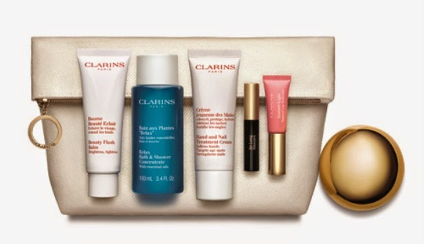 Clarins Radiance & Beauty collection 'Beauty Boosters' Boots Exclusive 2014