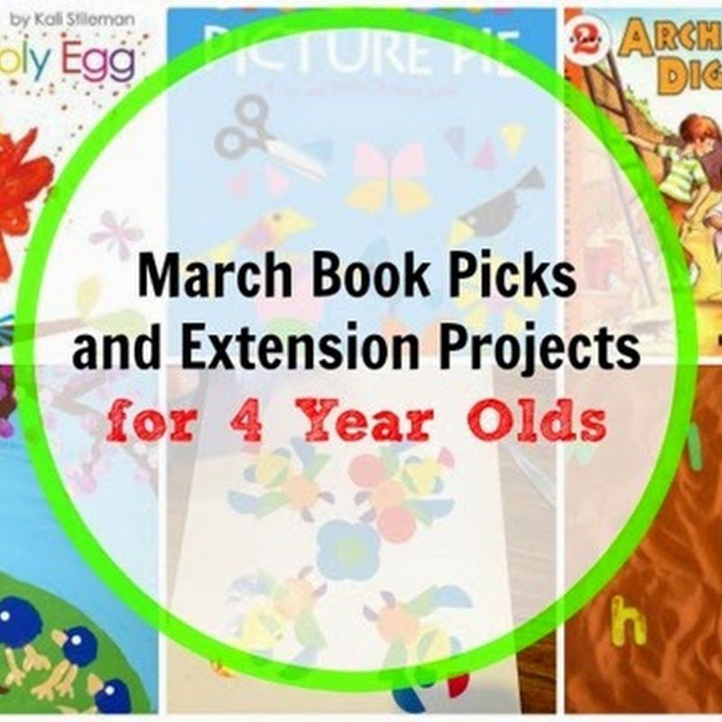 6 March Books for 4 Year Olds